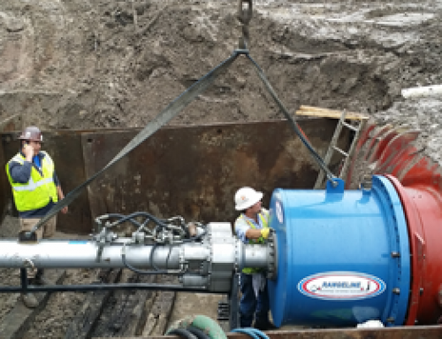 Double 48″ Water Main Line Stop