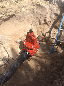 "Rangeline Tapping - 8"" Valve Insertion"